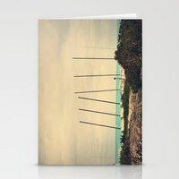 boats Stationery Cards featuring Boats by Kiera Wilson
