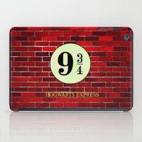 hogwarts iPad Cases featuring Hogwarts Express by kattie flynn