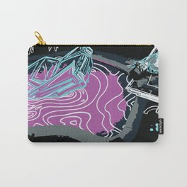 Magenta Death of a Bachelor Carry-All Pouch