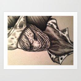Silent Hill Nurse  Art Print