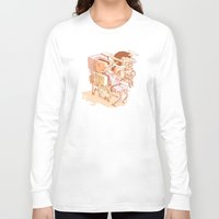 party Long Sleeve T-shirts featuring party by Ben Bauchau