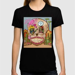 Mexican Skull House T-shirt