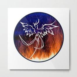 Firebird Mythology Metal Print