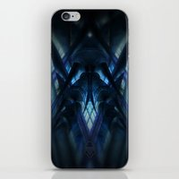 brussels iPhone & iPod Skins featuring rorschach sablon brussels church by KoZtar