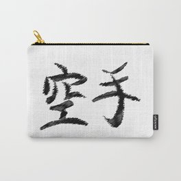 Karate Japanese Writing Carry-All Pouch