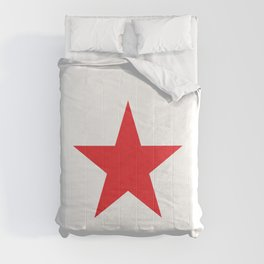 Red Star. Comforters