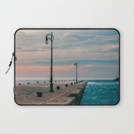 Windy day in the city of Trieste Laptop Sleeve