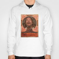 lebowski Hoodies featuring Lebowski Pop by Guido prussia