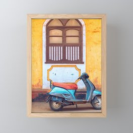 Travel photography made in India. Framed Mini Art Print