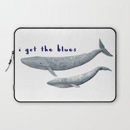I got the blues... Laptop Sleeve
