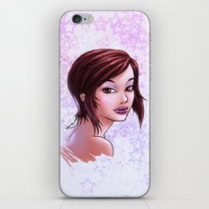 Lips & Stars iPhone & iPod Skin