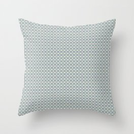 basket weave bg Throw Pillow