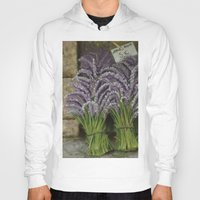 lavender Hoodies featuring LAVENDER by ART FEEDS HUNGER
