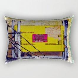 Press Here if you Dare  Rectangular Pillow