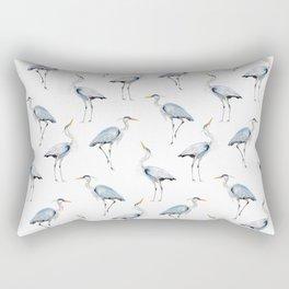 Great Blue Rectangular Pillow