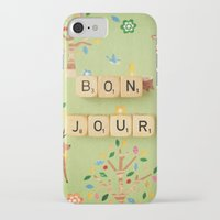 bonjour iPhone & iPod Cases featuring Bonjour by happeemonkee
