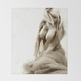 Nude Throw Blanket