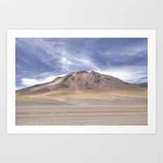 Desert Volcano 02 Art Print