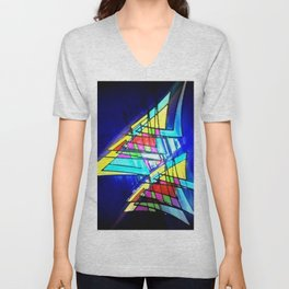High speed sailing. Unisex V-Neck