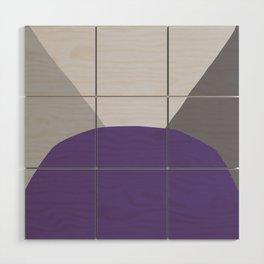DeYoung Ultra Violet Wood Wall Art