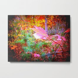 Bright Woods Metal Print