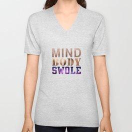 Mind, Body, & Swole Unisex V-Neck
