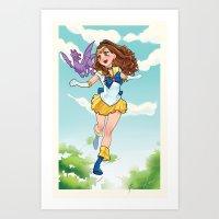 Xailor Kitty Art Print