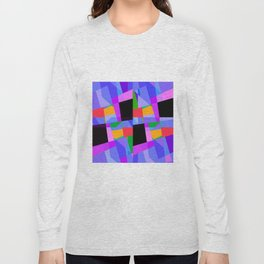suprematic composition N2 Long Sleeve T-shirt