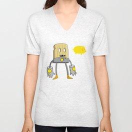 Space Toast Unisex V-Neck