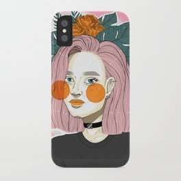 Thelm in Color iPhone Case