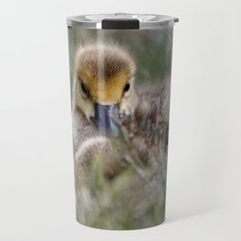 Hiding Baby Gosling Travel Mug
