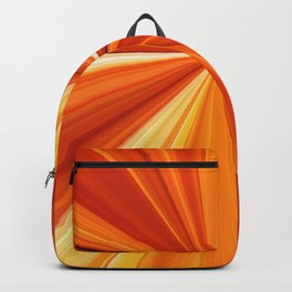 Bright Orange Sun Glare Backpack
