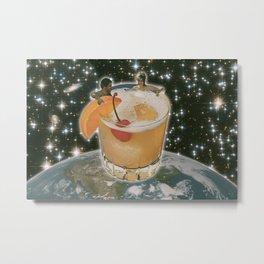 Space Vacation Metal Print