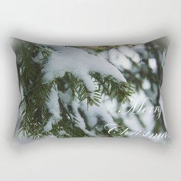Merry Christmas and Happy New Year! Rectangular Pillow