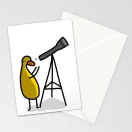 Telescope Duck | Veronica Nagorny Stationery Cards