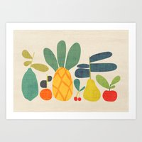 Fruits Art Print