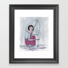 reaching out from within Framed Art Print
