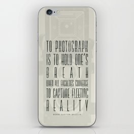 To photograph... iPhone Skin