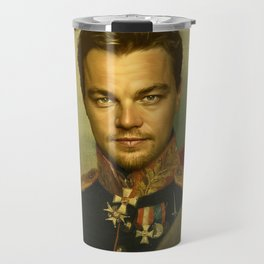 Leonardo Dicaprio - replaceface Travel Mug