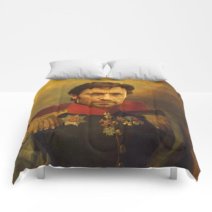 Hugh Jackman - replaceface Comforters