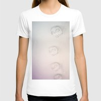 lanterns T-shirts featuring light lanterns by satya lila