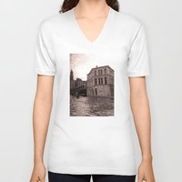 venice V-neck T-shirts featuring Venice by Miz2017