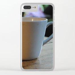 Morning Joe Clear iPhone Case