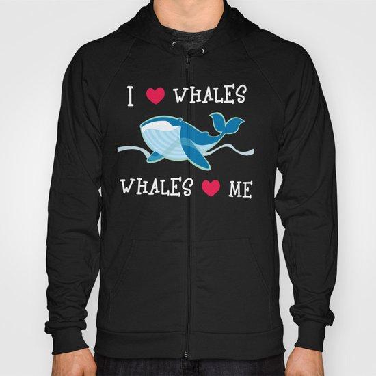 love whales Hoody