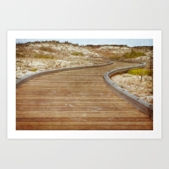 The Path to Discovery Art Print