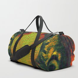 All Seeing Cat Duffle Bag