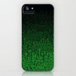 Reboot II GREEN iPhone Case