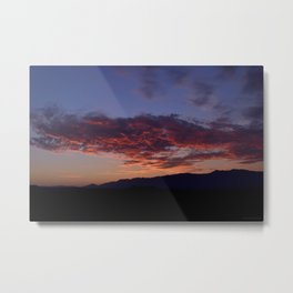 SW Mountain Sunrise - III Metal Print