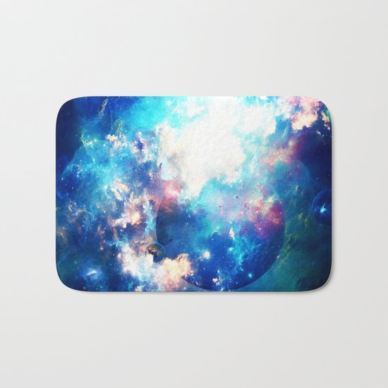 Space Eater Bath Mat