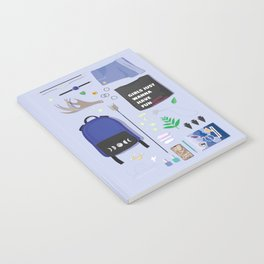 Modern Artemis Flatlay Notebook